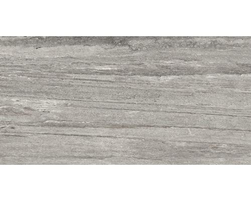 Carrelage pour sol en grès cérame fin Portman gris 32x62,5cm-0