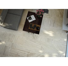 Carrelage pour sol en grès cérame fin Portman almond 32x62,5cm-thumb-2
