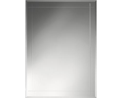 Kristallspiegel Grado Eckig 90 x 70 cm