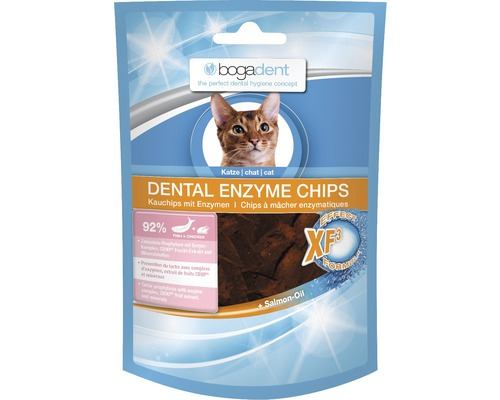 Complément alimentaire bogadent Dental Enzyme Chips Fisch 50g