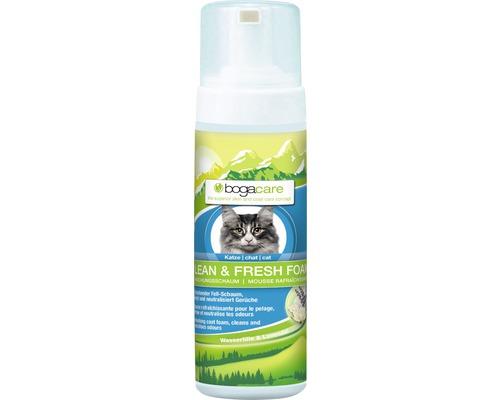 Shampooing pour chats bogacare Clean & Fresh mousse 150ml