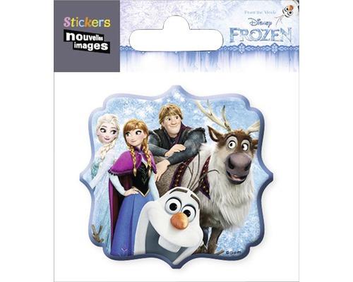 Mini-Sticker autocollant Frozen La reine des Neiges083 8,5x7,5 cm