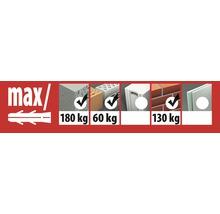 Cheville pour cadre Fassad Pro SK 10H/220 Tox, 25 pièces-thumb-1
