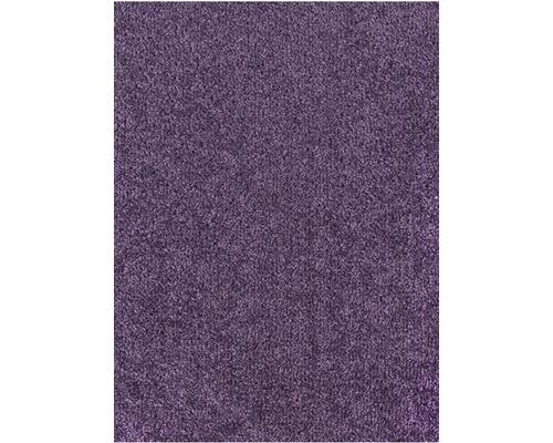 Teppichboden Velours Ines lila 400 cm breit (Meterware)