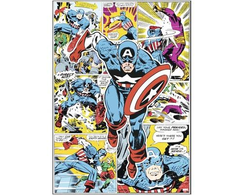 Tableau sur toile Marvel Captain America Hero 50x70 cm