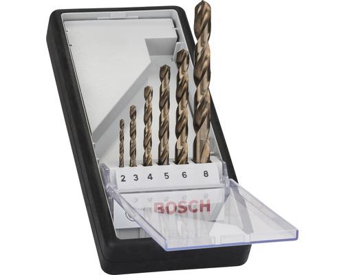Kit de forets à métaux HSS-Co Bosch 6 pièces