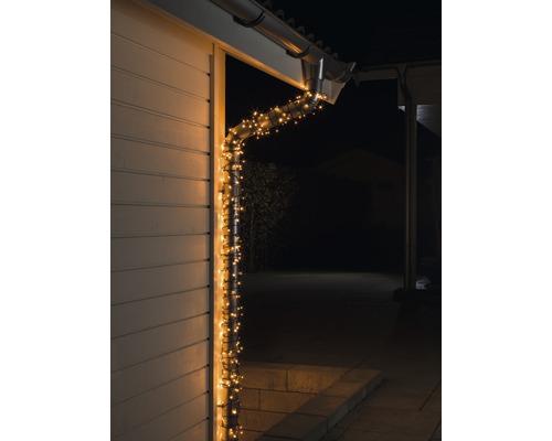 Guirlande lumineuse LED Konstsmide micro extérieur et intérieur 120 couleur d''éclairage ambre