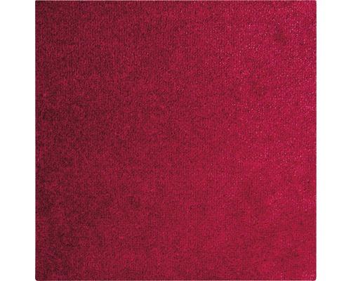 Teppichboden Frisé Leila rot 500 cm breit (Meterware)