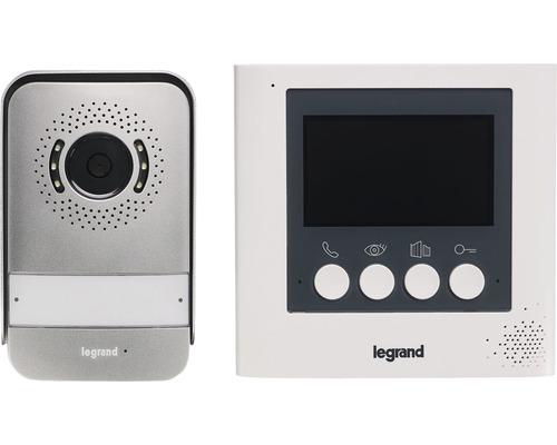 "Interphone kit vidéo 4,3"" 2fils Legrand 369110"