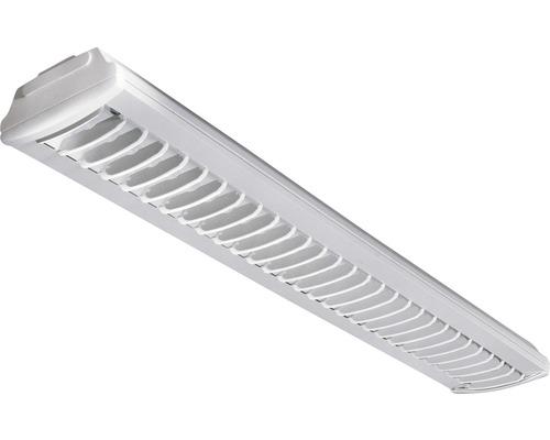 Luminaire à grille G13 à 1 ampoules, blanc, L 1550 mm