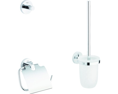 Kit WC Grohe Essentials City 3 parties chrome 40407001