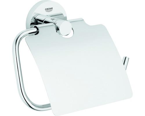 Dérouleur de papier toilette GROHE Essentials avec couvercle 40367001
