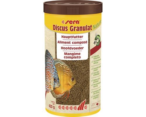 Aliment composé granulés sera Discus 1000 ml