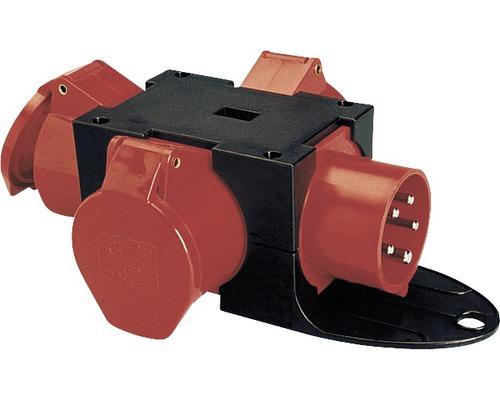 Mobiler Kleinverteiler 16A IP44 schwarz PCE 9430411