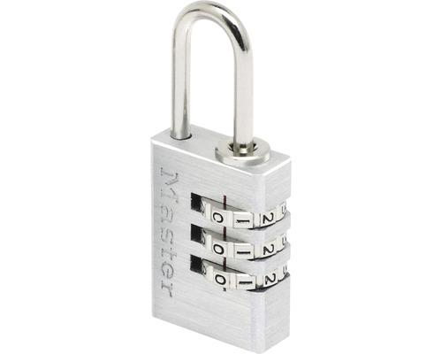 Zahlenschloss Master Lock Aluminium 20 mm