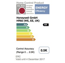 Thermostat de radiateur Honeywell Home evohome THR092HRT-thumb-1