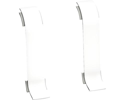 Connecteur pour goulotte blanc 60 mm-0
