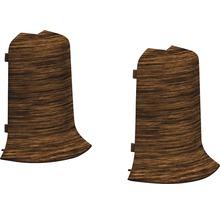 Angles extérieurs pour plinthe goulotte à clipser Panga-Panga 50 mm-thumb-0