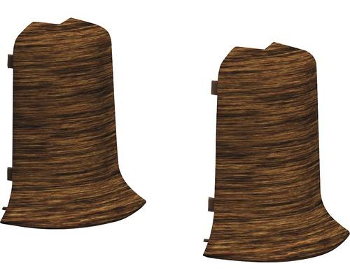Angles extérieurs pour plinthe goulotte à clipser Panga-Panga 50 mm-0