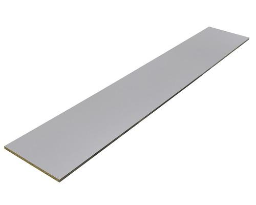 Panneau d''ammeublement aspect métal 19x200x2630 mm