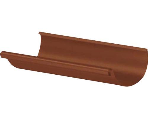 PRECIT Dachrinne oxide red NW 125mm Länge: 2,00m Größe 280