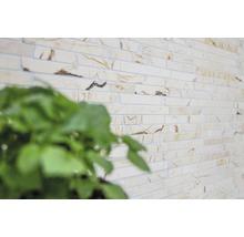 Mosaïque en pierre naturelle Quadrat golden cream poli 30.5x32.2cm-thumb-7