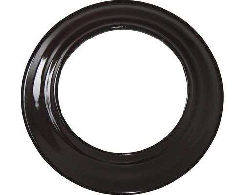 Ofenrohr-Rosette Ø100 mm braun