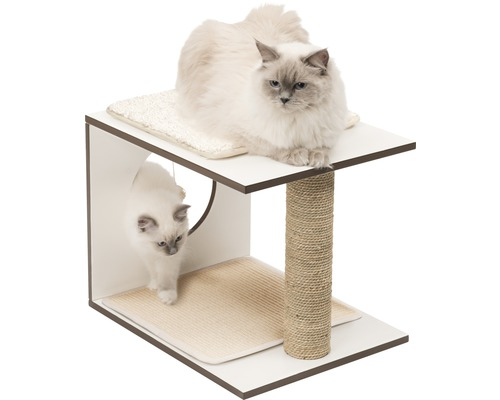 Griffoir Catit Vesper V-stool 46,5 x 37 x 37 cm blanc