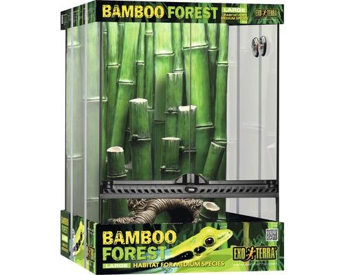 Kit terrarium Exo Terra Bamboo Forest Large 45x45x60cm-0
