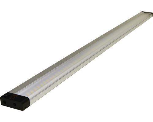Capteur pour éclairage sous-meuble LED Light Flat alu/argent 8W 600 lm 3000 K blanc chaud L 500 mm