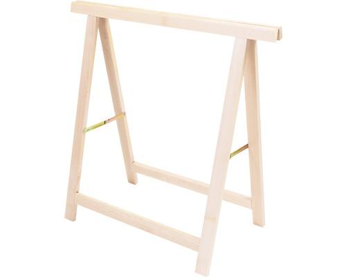 Support rabattable bois de hêtre 40 kg