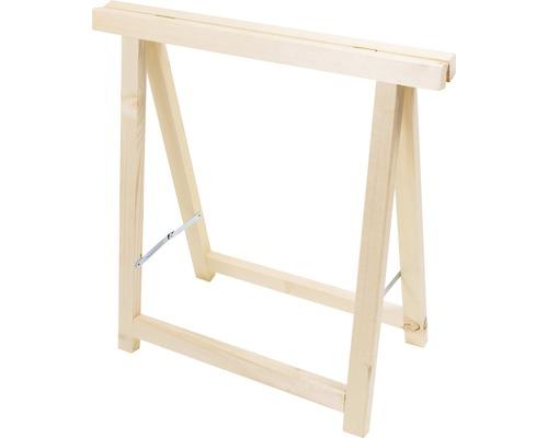 Support rabattable bois de résineux 60 kg