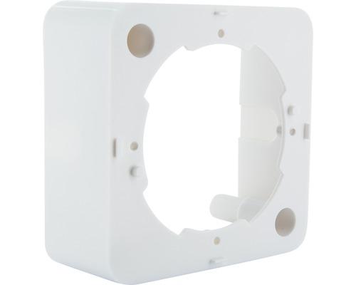 Boîte d''encastrement 1 poste blanc Schwaiger APK532