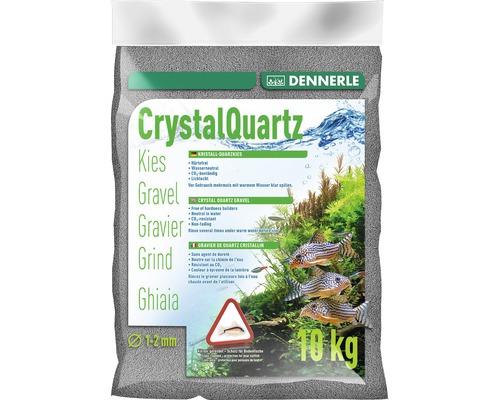 Gravier de quartz cristallin DENNERLE 10kg gris ardoise