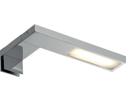Éclairage d''armoire et de miroir LED Galeria Hook chrome avec 1 ampoule 280 lm 2700 K blanc chaud B 150 mm