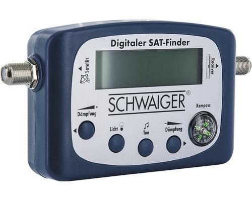 Détecteur satellite numérique avec affichage Schwaiger SF80531
