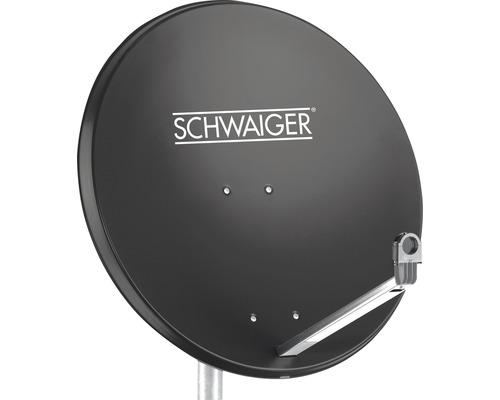 Antenne satellite alu Ø 75cm anthracite Schwaiger SPI998.1