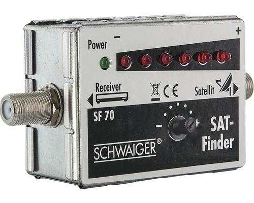 Détecteur satellite (LED 6+1) Schwaiger SF70531