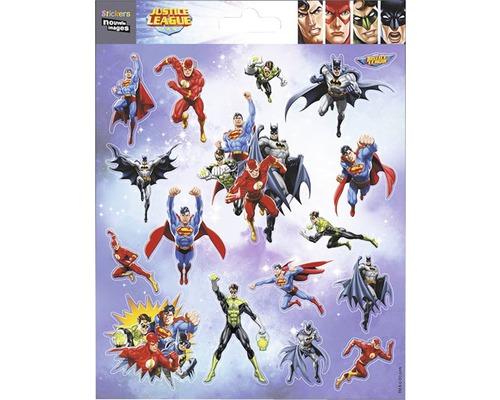 Sticker mural Super héros 16x20cm