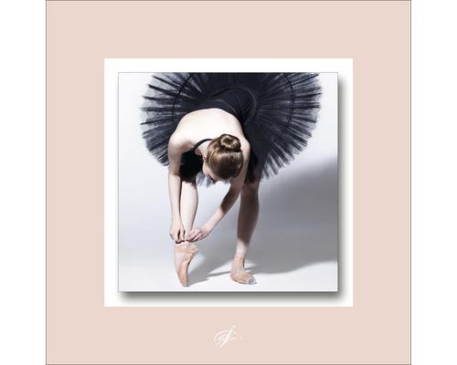 Tableau en métal Prima Ballerina II 50x50 cm