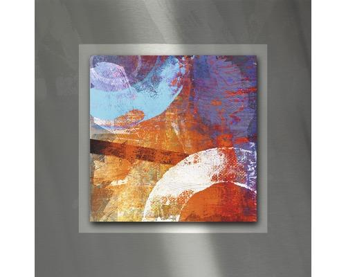 Tableau en métal Colourmix I 50x50 cm