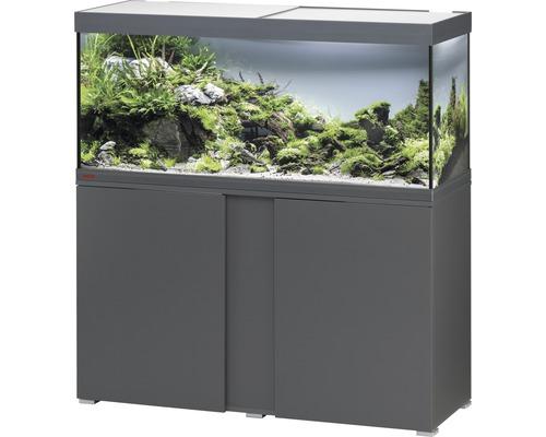 Kit complet d''aquarium EHEIM Vivaline 240 LED avec éclairage à LED, chauffage, filtre et meuble bas anthracite