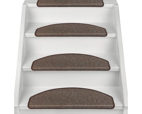 Marchette d''escalier Rambo marron 28x65 cm, lot de 15