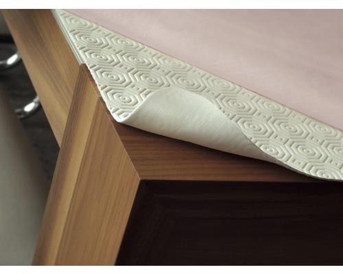 Nappe de table unie blanche 138x1500 cm