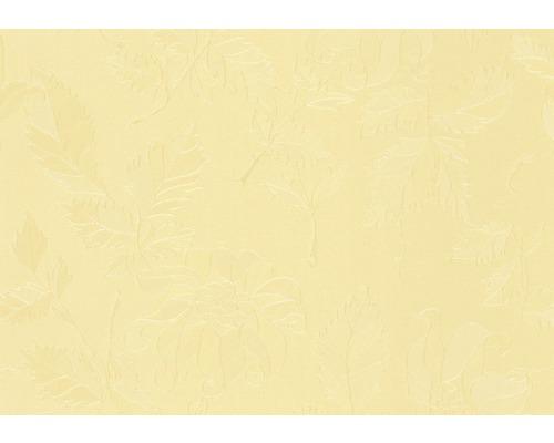 Nappe damassée jaune largeur 138cm (marchandise au mètre)