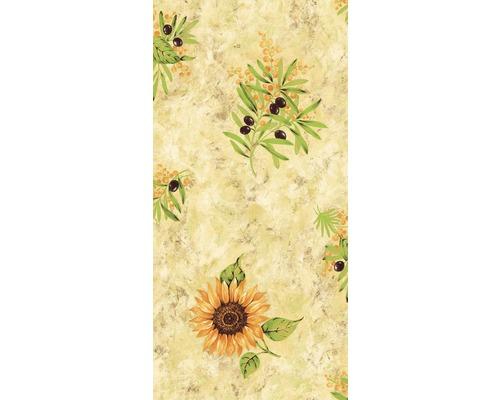 Nappe Summer beige largeur 138cm (marchandise au mètre)