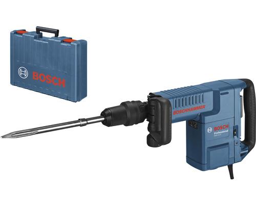 Marteau perforateur avec SDS-Max Bosch Professional GSH 11 E avec poignée supplémentaire et coffret de transport