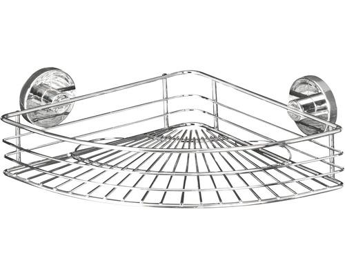 Tablette d''angle Vacuum-Loc Bari chromée