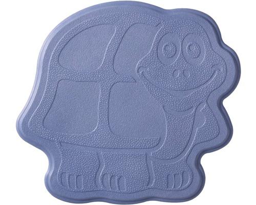 Mini Tapis antidérapant pour baignoire RIDDER Turtle 11 x 13 cm bleu marine