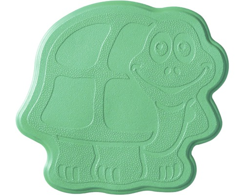 Mini Tapis antidérapant pour baignoire RIDDER Turtle 11 x 13 cm vert
